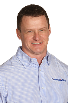 CHUCK THOMPSON - Fountain Tire manager