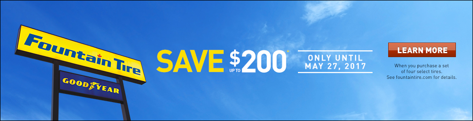 Save up to $200*
