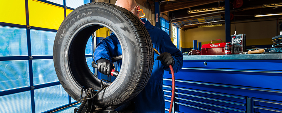 Tire Repair Shop - Flat Tire Services