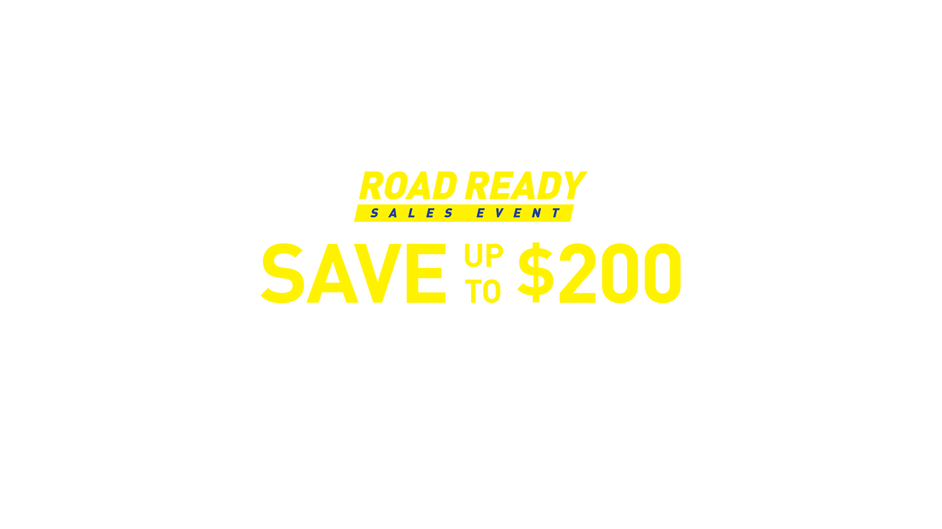Save up to $200 on 4 select tires.