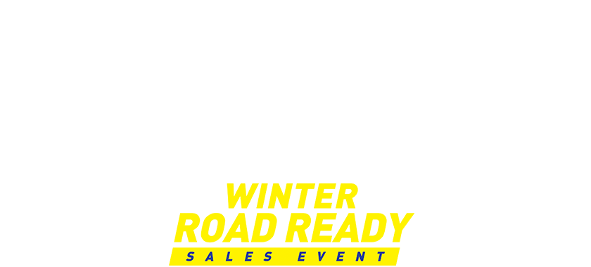 Winter Road Ready Sales Event